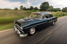 1955 Chevrolet Bel Air Front View Motion...Re-pin brought to you by agents of #Carinsurance at #HouseofInsurance in Eugene, Oregon...Call for a Quote 541-345-4191