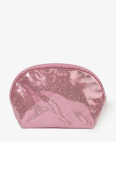 Glittered Patent Cosmetic Bag | FOREVER21 - 1000049674