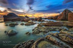 Omong Indah Beach by Bobby-Bong