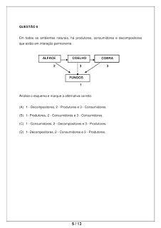 PORTAL ESCOLA: CIÊNCIAS 6° ANO ATIVIDADES AVALIAÇÕES VERIFICAÇÕES TESTES PROVAS EXERCÍCIOS PARA IMPRIMIR II