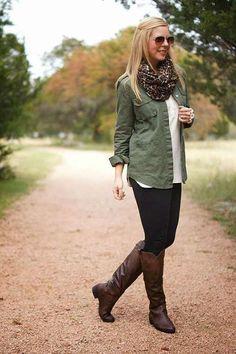 veste kaki militaire femme