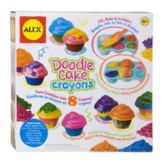 Doodle Cake Crayons by Alex | eBeanstalk