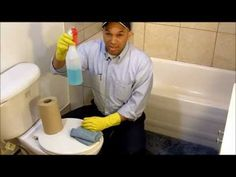 Como Limpiar un Baño - CURSO PARA LAS EMPLEADAS DOMESTICAS Y TRABAJADORAS DEL HOGAR - YouTube