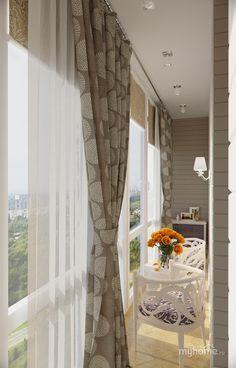 Оформление лоджии House Design, Garden Home Office, Balcony Decor, Apartment Interior, Living Room Decor, Home Decor, Apartment Decor, Interior Balcony, Interior Design