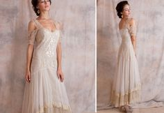 Second Wedding Dresses, Informal Wedding Dress, Venetian, Vintage inspired