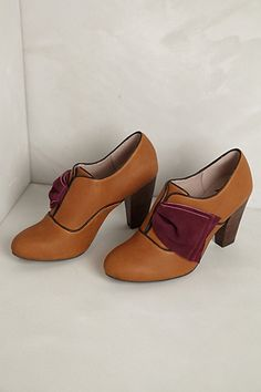 Blair Oxfords #anthropologie........what a cool shoe! Rock 'em with tights or jeans............