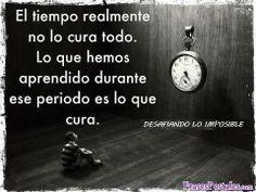 El tiempo no cura