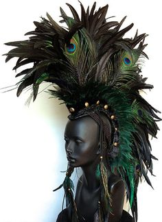 Avante Garde Headdresses by Miss G Haute Headwear | Beauty Shall ...