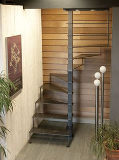30 Awesome Loft Staircase Design Ideas You Have To See 30 Awesome Loft Staircase Design Ideas You Have To See,Treppe Related posts:Basicshirt HeikeStylefully. Spiral Stairs Design, Small Staircase, Loft Staircase, Tiny House Stairs, Home Stairs Design, Attic Stairs, Interior Stairs, House Design, Spiral Staircases
