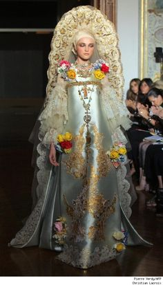 Haute Couture - Christian Lacroix  Wearable Art Repinned by www.fashion.net