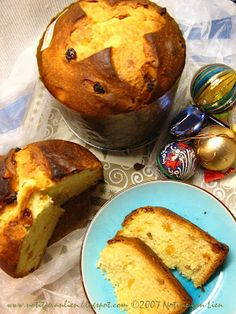 Panettone Italian Christmas Sweets