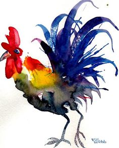 easy watercolor paintings of animals Watercolor Paintings For Beginners, Watercolor Art Paintings, Watercolor Bird, Watercolor Animals, Painting & Drawing, Watercolors, Watercolor Artists, Watercolor Portraits, Watercolor Landscape