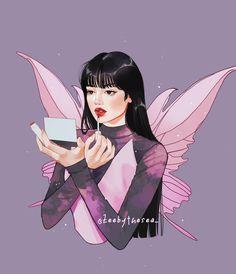 "▪️Zee🌿▪️ on Instagram: ""Lalisa 🦋 ... Decided to redraw my bp fairies from 2020( f E b, my bad🤡)"" Black Girl Art, Art Girl, Art Sketches, Art Drawings, I Am Bad, Character Portraits, Winx Club, Faeries, Cartoon Art"