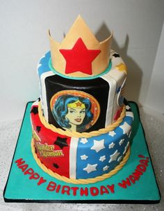 This would be an awesome birthday cake for someone... hint hint