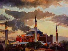 Sunset Sultanahmet, Istanbul  by Paul Jackson