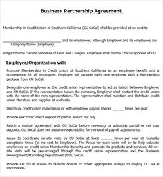 What Is Partnership Agreement Template? A Partnership Is A Business Formed  With Two Or More