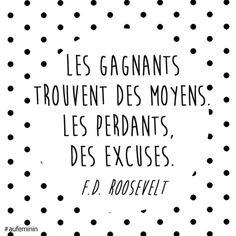 Citation Franklin D. Roosevelt.