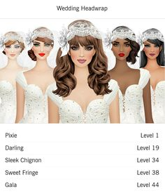 Strapless Dress Formal, Formal Dresses, Wedding Dresses, Covet Fashion Games, Cover Model, Head Wraps, New Fashion, Fashion Hair, Wedding Styles