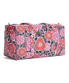 56cefe2b3163 Look at this  zulilyfind! Cheery Blossoms Large Duffel Bag  zulilyfinds  Duffel Bag