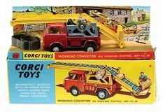 Corgi Toys Working Conveyor on Forward Control Jeep F.C.-150