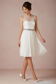 Vestidos de novia cortos para comprar