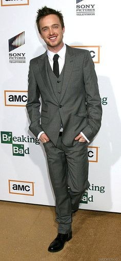 Aaron Paul.. aka Jesse Pinkman