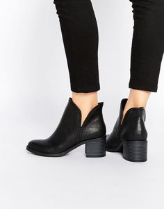 Black ankle boots are always a must.