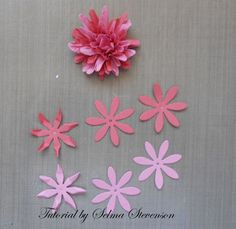 "The other day I posted a tutorial  on how to create a ""Lazy Daisy""  using the new Cheery Lynn ""Daisy Strip""dies .  Here is the link  to t..."
