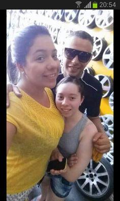 Antonio Carlos, Brenda e Bruna