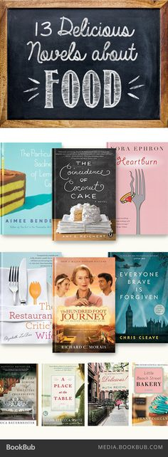 13 delicious books about food. Yum!
