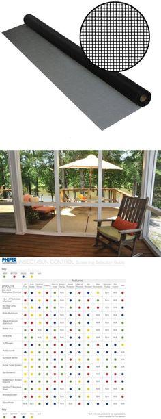 window screens 180982 phifer better vue pool patio glass screen