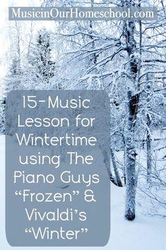 Piano Man, Piano Guys, Vivaldi Winter, Frozen Songs, Music Courses, Music Classroom, Classroom Ideas, Music Teachers, Music Lesson Plans