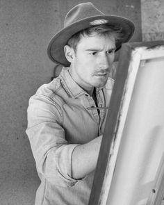 Cowboy Hats, Biography, Ladder, To Study, Drawing S, Kunst
