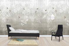 Bohemian Birds - Beige - Wall Mural & Photo Wallpaper - Photowall