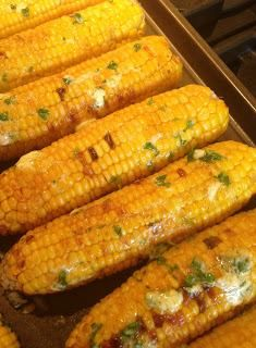 Corn with Cilantro Lime & Butter
