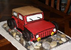 Jeep Cake - who wouldn't want one of these?