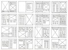 I thought it would be beneficial if I created a basic structure of how my magazine could visually be. By doing this, it gives me an idea, and basic template in which I can work with. Obviously t...