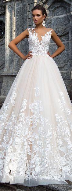 Wedding Dress by Milla Nova White Desire 2017 Bridal Collection - Milena #weddingdress