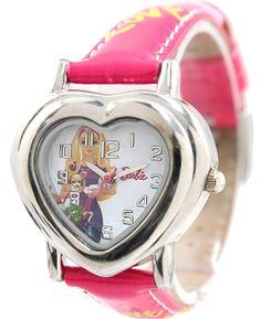 New Purple Kapela PNP Lesklý strieborný plášť hodiniek Children Watch KW052E