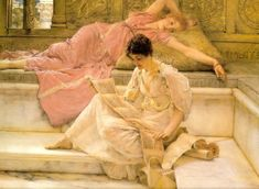 The Athenaeum - The Favourite Poet (Sir Lawrence Alma-Tadema - 1888)