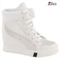 Sneakers de dama cu siret 029-3A - Reducere 58% - Zibra