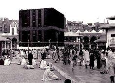 The Kaaba in 1937...Subhan Allah!