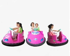 UFO Bumper Cars for Kids
