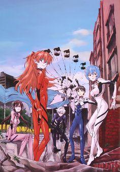 Kaworu Nagisa Died For Your Sins Manga Anime, Rei Ayanami, Evangelion Art, Neon Evangelion, Awesome Anime, Animation, Evangelion, 90s Anime, Cartoon