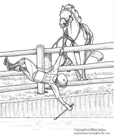 16 best equestrian coloring books