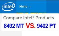 ตารางเปรียบเทียบ Specification ของ เปรียบเทียบ Intel Pro 1000 PT Dual Port (9402PT) กับ Intel Pro 1000 MT Dual Port (8492MT) #Intel #LANCard #Server