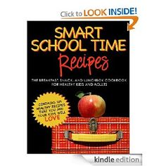 FREE eBook (Kindle or Kindle App on iPad) written by my friend Alisa Fleming -  Lots of very healthy breakfast and lunch foods for kids (and adults too), many of which are vegan or gluten free or dairy free or each recipe has notes on how to make it so. Tons of great resources and links to healthy recipe websites. It's free but worth sooooooooo much more!