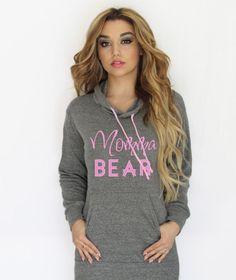 Momma Bear hoodie sweatshirt. Mama bear hoodie Made by