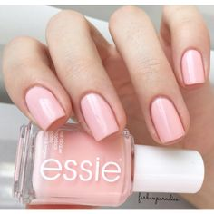 'steal his name' and his heart with this gorgeous light pink polish from essie bridal 2016.