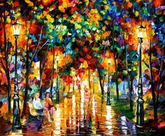 Gossips — PALETTE KNIFE Oil Painting On Canvas by AfremovArtStudio. Official Shop on Etsy, $249.00